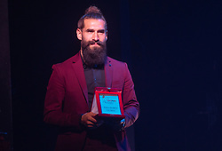 Luka Majcen during SPINS XI Nogometna Gala 2019 event when presented best football players of Prva liga Telekom Slovenije in season 2018/19, on May 19, 2019 in Slovene National Theatre Opera and Ballet Ljubljana, Slovenia. ,Photo by Urban Meglic / Sportida