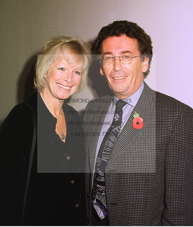 MR & MRS ROBERT POWELL he is the actor, at a party in London on 4th November 1998.MLO 18