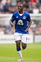 Everton's Arouna Kone during the pre-season friendly at Tynecastle Stadium, Edinburgh.