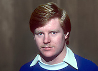 Davy Nixon, footballer, Linfield FC, Belfast, N Ireland, January, 1982, 198201000003DN<br /> <br /> Copyright Image from Victor Patterson, 54 Dorchester Park, Belfast, UK, BT9 6RJ<br /> <br /> Tel: +44 28 9066 1296<br /> Mob: +44 7802 353836<br /> Voicemail +44 20 8816 7153<br /> Skype: victorpattersonbelfast<br /> Email: victorpatterson@me.com<br /> Email: victor@victorpatterson.com<br /> <br /> IMPORTANT: If you wish to use this image or any other of my images please go to www.victorpatterson.com and click on the Terms & Conditions. Then contact me by email or phone with the reference number(s) of the image(s) concerned.