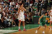 DESCRIZIONE : Treviso Lega A1 2006-07 Benetton Treviso Armani Jeans Milano<br /> GIOCATORE : Bulleri Ricezione Passaggio<br /> SQUADRA : Armani Jeans Milano<br /> EVENTO : Campionato Lega A1 2006-2007 <br /> GARA : Benetton Treviso Armani Jeans Milano<br /> DATA : 15/04/2007 <br /> CATEGORIA : Passaggio Tecnica<br /> SPORT : Pallacanestro <br /> AUTORE : Agenzia Ciamillo-Castoria/M.Marchi