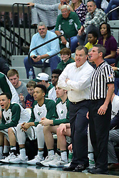 21 February 2017:  Ron Rose during an College men's division 3 CCIW basketball game between the Augustana Vikings and the Illinois Wesleyan Titans in Shirk Center, Bloomington IL
