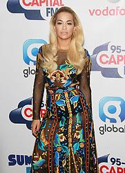 © London News Pictures. Rita Ora, Capital FM Summertime Ball, Wembley Stadium, London UK, 06 June 2015, Photo by Brett D. Cove /LNP