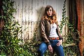 Katie S. - guitar promo poses
