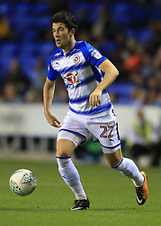 22 August 2017 -  EFL Cup Round Two - Reading v Millwall - Pelle Clement of Reading - Photo: Marc Atkins/Offside