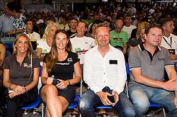 Mateja Kos, Tina Maze, Boris Popovic  at Ironman 70.3 Slovenian Istra 2018, on September 23, 2018 in Koper / Capodistria, Slovenia. Photo by Vid Ponikvar / Sportida