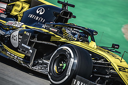 February 18, 2019 - Barcelona, Catalonia, Spain - NICO HULKENBERG (GER) from team Renault drives in his in his RS19 during day one of the Formula One winter testing at Circuit de Catalunya (Credit Image: © Matthias OesterleZUMA Wire)