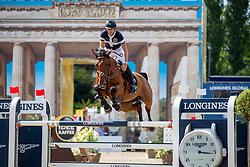 DEVOS Pieter (BEL), Claire Z<br /> Berlin - Global Jumping Berlin 2018<br /> CSI5* Preis der Familie Eduard Winter<br /> 27. Juli 2018<br /> © www.sportfotos-lafrentz.de/Stefan Lafrentz