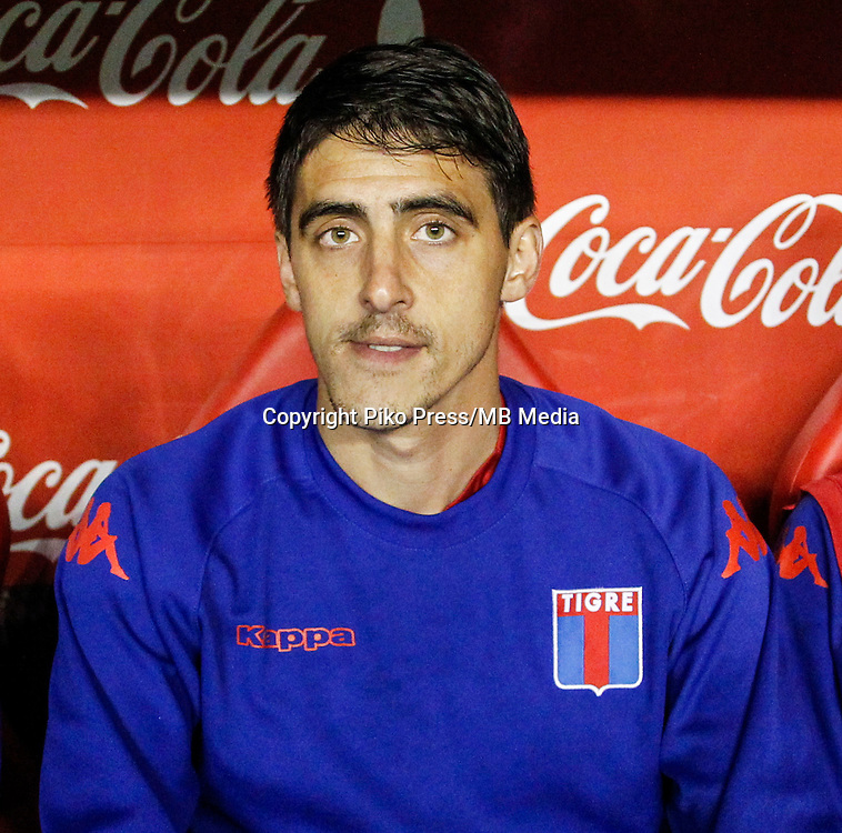 CAMPEONATO ARGENTINO Soccer / Football. <br /> TIGRE  Portraits <br /> Bs.As. Argentina. - May 30, 2015<br /> Here Tigre player Mario Angel Paglialunga<br /> &copy; PikoPress