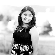 October 08, 2014.  <br /> Dorely Morales Senior Portraits.  MCHS Class of 2015.  Film, Tri-X, Hasselblad