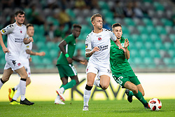 Ross Holden of FC Crausaders during 1st Leg football match between NK Olimpija Ljubljana and FC Crausaders in 2nd Qualifying Round of UEFA Europa League 2018/19, on July 26, 2018 in SRC Stozice, Ljubljana, Slovenia. Photo by Urban Urbanc / Sportida
