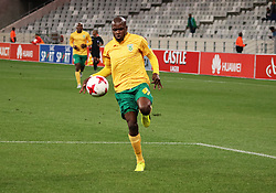 Lerato Lamola in action in the Absa Premiership match between Ajax Cape Town and Golden Arrows at the Cape Town Stadium on Saturday, August 19, 2017.