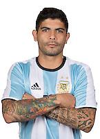 Football Conmebol_Concacaf - <br />Copa America Centenario Usa 2016 - <br />Argentina National Team - Group D -<br />Ever Banega
