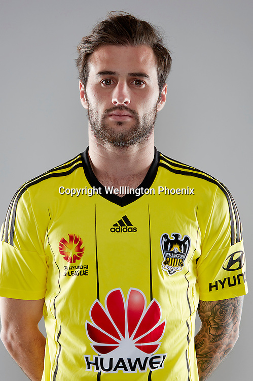 Tom Doyle.<br /> Headshots of the Wellington Phoenix Football team for the Hyundai A-League 2016-17 season.