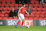 Charlton Athletic defender Jay Dasilva (36) dribbling during the EFL Sky Bet League 1 match between Charlton Athletic and Bradford City at The Valley, London, England on 14 March 2017. Photo by Matthew Redman.