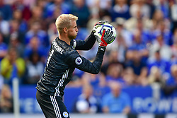 May 12, 2019 - Leicester, England, United Kingdom - Leicester City goalkeeper Kasper Schmeichel (1) during the Premier League match between Leicester City and Chelsea at the King Power Stadium, Leicester on Sunday 12th May 2019. (Credit Image: © Mi News/NurPhoto via ZUMA Press)