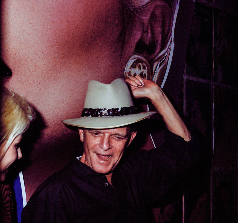 Truman Capote and Deborah Harry at Studio 54 New York, NY