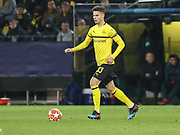 Julian Weigl of Borussia Dortmund during the Champions League round of 16, leg 2 of 2 match between Borussia Dortmund and Tottenham Hotspur at Signal Iduna Park, Dortmund, Germany on 5 March 2019.