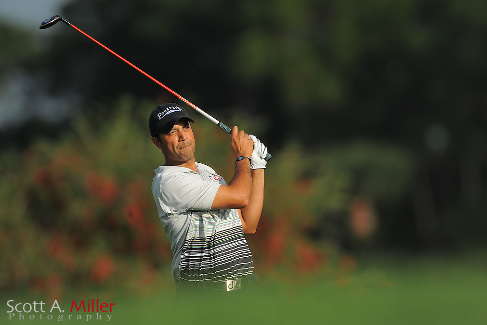 Arjun Atwal during the first round of the Honda Classic at PGA National on March 1, 2012 in Palm Beach Gardens, Fla. ..©2012 Scott A. Miller.