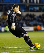 Picture by David Horn/Focus Images Ltd +44 7545 970036<br /> 03/12/2013<br /> David Forde of Millwall during the Sky Bet Championship match at The Den, London.
