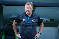 September 14, 2017 - Reggio Emilia, Italy - Everton Manager Ronald Koeman  during the UEFA Europa League Group E football match Atalanta vs Everton at The Stadio Città del Tricolore in Reggio Emilia on September 14, 2017. (Credit Image: © Matteo Ciambelli/NurPhoto via ZUMA Press)