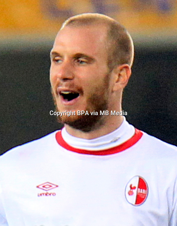 Italian League Serie B -2016-2017 / <br /> ( Fc Bari 1908 ) - <br /> Matteo Fedele