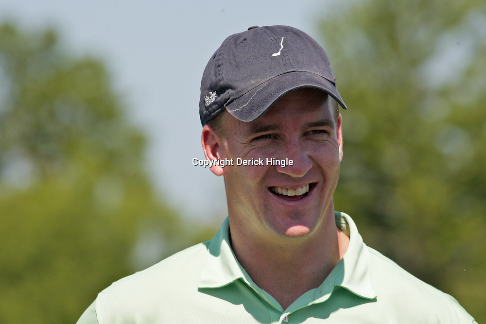 2009 April 22: Peyton Manning quarterback of the NFL's Indianapolis Colts during the PGA Tour, Zurich Classic of New Orleans Classic Pro-Am played at TPC Louisiana in Avondale, Louisiana.