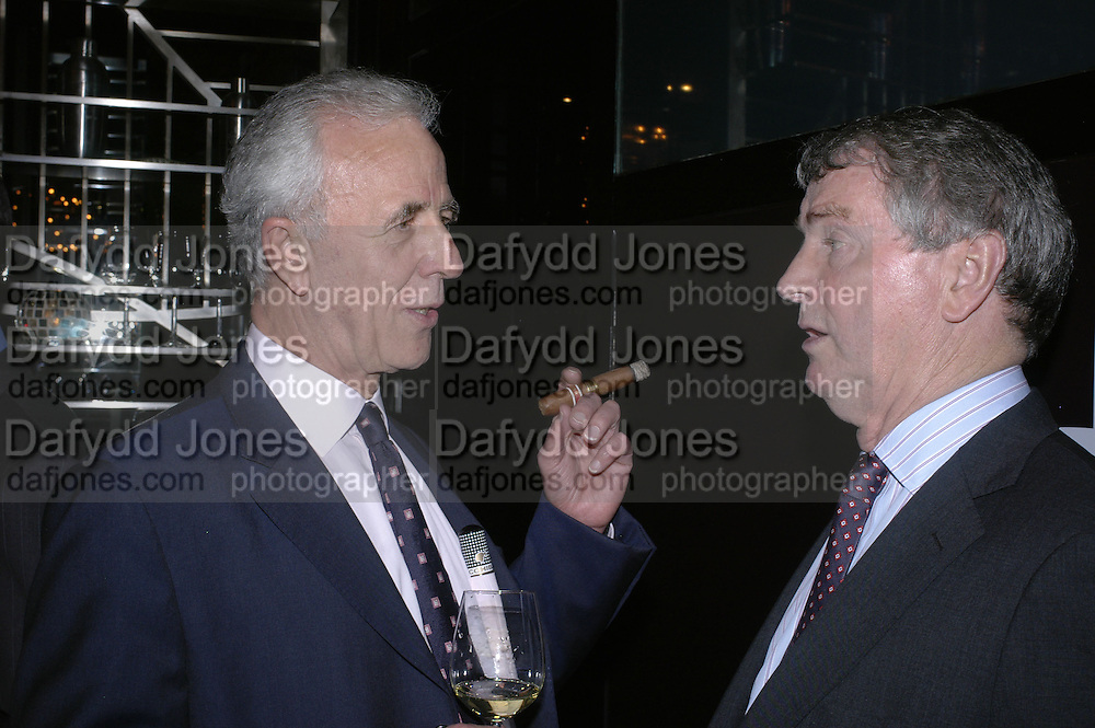 Simon Chase and Stephen Quinn, Drinks party to launch a new Thomas Pink shirt called The Mogul which has a pocket which houses one's cigar. Hostyed by the Spectator and Thomas Pink. Floridita. Wardour St. London. 1 November 2006. -DO NOT ARCHIVE-© Copyright Photograph by Dafydd Jones 66 Stockwell Park Rd. London SW9 0DA Tel 020 7733 0108 www.dafjones.com