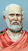 Plato (c428-c348 BC) Ancient Greek philosopher. Chromolithograph