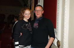 GILES DEACON and LILY COLE at the Grand Classics screening of Manhattan hosted by Giles Deacon at the Electric Cinema, Portobello Road, London W11 on 13th November 2006.<br />