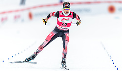 21.02.2016, Salpausselkae Stadion, Lahti, FIN, FIS Weltcup Nordische Kombination, Lahti, Langlauf, im Bild David Pommer (AUT) // David Pommer of Austria competes during Cross Country Gundersen Race of FIS Nordic Combined World Cup, Lahti Ski Games at the Salpausselkae Stadium in Lahti, Finland on 2016/02/21. EXPA Pictures © 2016, PhotoCredit: EXPA/ JFK