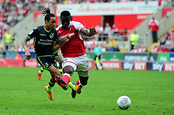 Kyle Bennett of Bristol Rovers looks at goal. - Mandatory by-line: Alex James/JMP - 21/04/2018 - FOOTBALL - Aesseal New York Stadium - Rotherham, England - Rotherham United v Bristol Rovers - Sky Bet League One