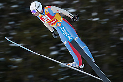 14.12.2012, Nordische Arena, Ramsau, AUT, FIS Nordische Kombination Weltcup, Gundersen, Skisprung, im Bild Lamy Chappuis Jason (FRA) during Ski Jumping of FIS Nordic Combined World Cup, Gundersen at the Nordic Arena in Ramsau, Austria on 2012/12/14. EXPA Pictures © 2012, EXPA/ Federico Modica