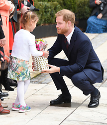 The Duke of Sussex attends the twelfth annual Lord Mayor's Big Curry Lunch in aid of the three National Service Charities: ABF The Soldiers' Charity, the Royal Navy and Royal Marines Charity and the Royal Air Force Benevolent Fund, Guildhall, London. Photo credit should read: Doug Peters/EMPICS Entertainment