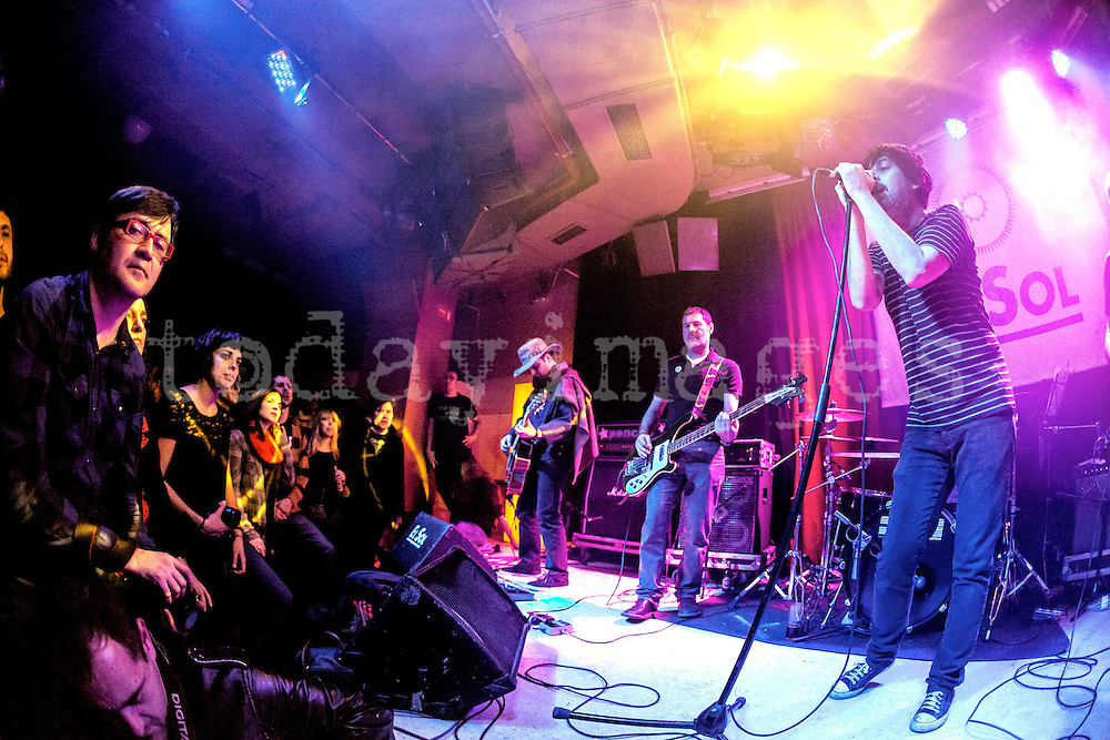 Automatics performing at the Sol Club in Madrid