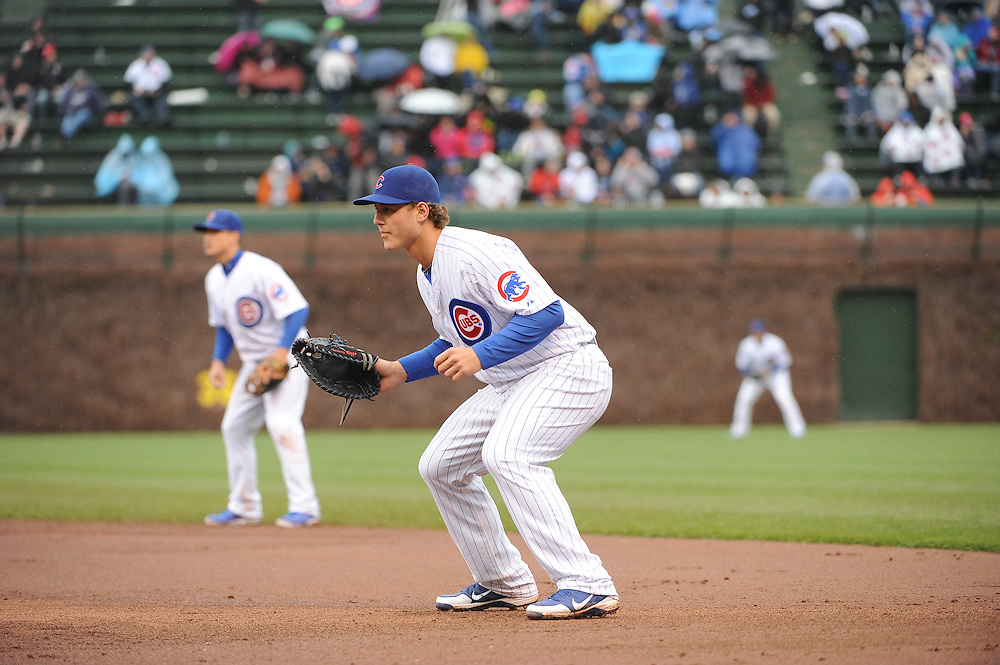 (AP Photo/Micah Tapman)Reds @ Cubs May 3, 2013