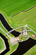 Nederland, Noord-Holland, gemeente Castricum, 20-04-2015; Akersloot, Noordermolen. Poldermolen van de Groot-Limmerpolder.<br /> Polder wind mill near Alkmaar.<br /> luchtfoto (toeslag op standard tarieven);<br /> aerial photo (additional fee required);<br /> copyright foto/photo Siebe Swart