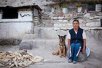 Yanhuitlan, with Manuel Reyes..Oaxaca mexico