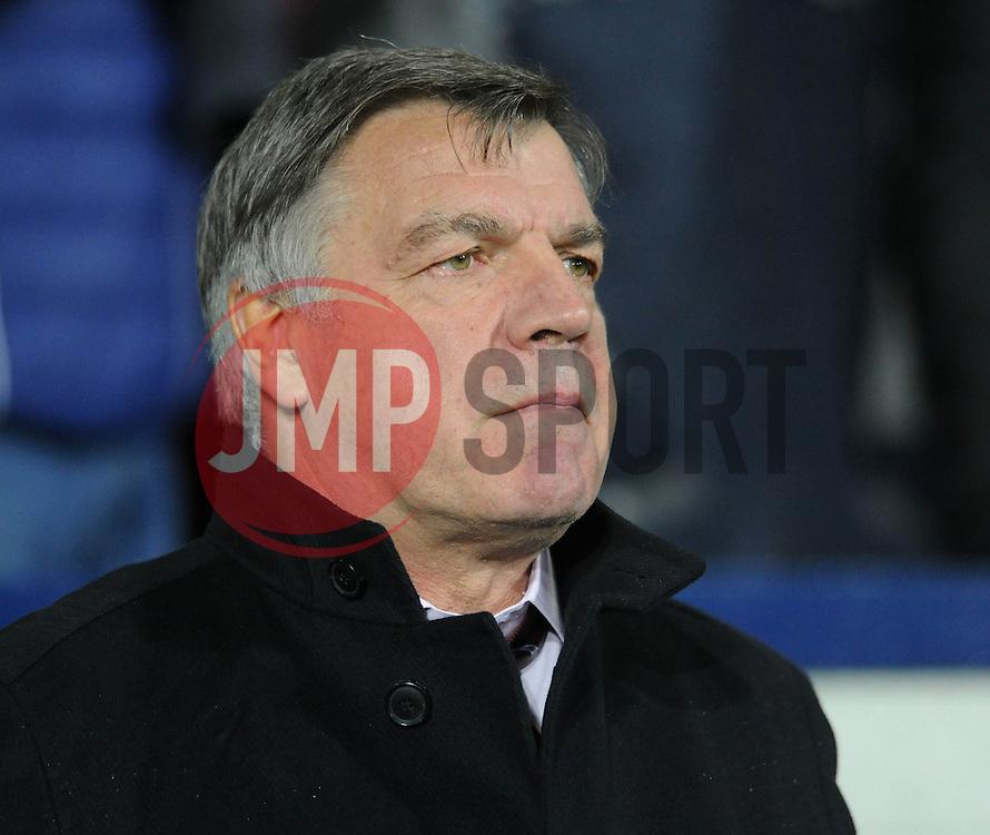 West Ham Manager, Sam Allardyce - Photo mandatory by-line: Dougie Allward/JMP - Mobile: 07966 386802 - 02/12/2014 - SPORT - Football - West Bromwich - The Hawthorns - West Bromwich Albion v West Ham United - Barclays Premier League