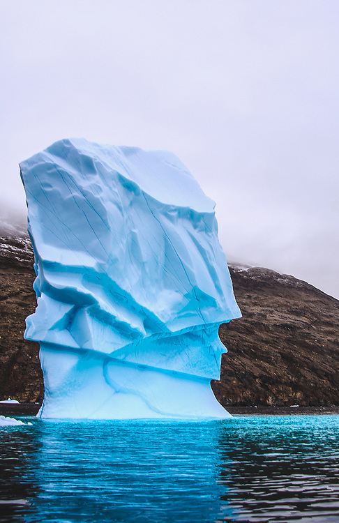 Iceberg at Eskimo Bukta, Greenland