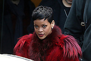 10.DECEMBER.2012. PARIS<br /> <br /> RIHANNA LEAVING PALAIS DES SPORTS IN BERCY, PARIS.<br /> <br /> BYLINE: EDBIMAGEARCHIVE.CO.UK<br /> <br /> *THIS IMAGE IS STRICTLY FOR UK NEWSPAPERS AND MAGAZINES ONLY*<br /> *FOR WORLD WIDE SALES AND WEB USE PLEASE CONTACT EDBIMAGEARCHIVE - 0208 954 5968*