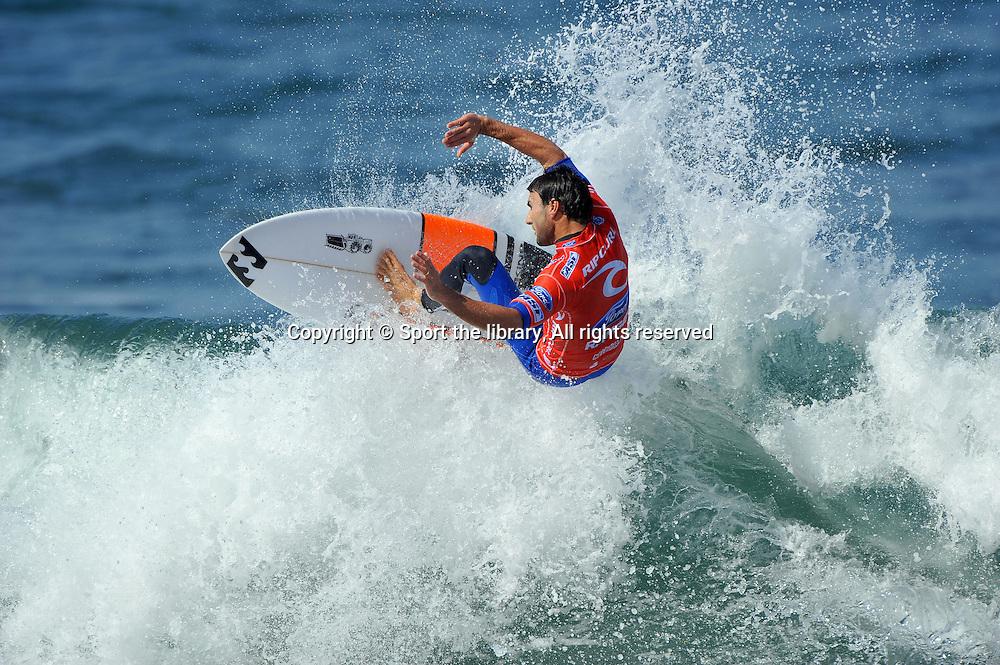 Joel Parkinson (AUS)<br /> Rip Curl Pro (2nd stop on ASP World Tour)<br /> Bells Beach, Victoria (Australia)<br /> April 3rd - April 14th, 2012<br /> &copy; Sport the library/Jeff Crow