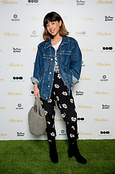© Licensed to London News Pictures. 19/04/2016. Singer Songwriter Foxes attends an exclusive screening of The Jungle Book hosted by Digital Cinema Media (DCM), The Walt Disney Company and Picturehouse Central as part of Advertising Week Europe 2016. Picturehouse Central, London, UK. Photo credit : David Tett/LNP
