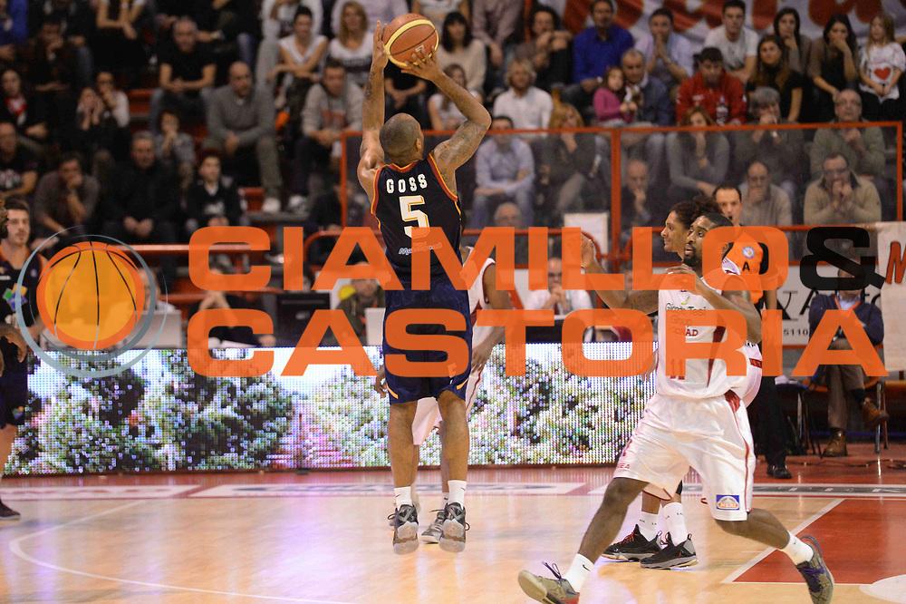 DESCRIZIONE : Pistoia Lega serie A 2013/14 Giorgio Tesi Group Pistoia Acea Roma<br /> GIOCATORE : Phil Goss<br /> CATEGORIA : Three Points Controcampo<br /> SQUADRA : Acea Roma<br /> EVENTO : Campionato Lega Serie A 2013-2014<br /> GARA : Giorgio Tesi Group Pistoia Acea Roma<br /> DATA : 29/12/2013<br /> SPORT : Pallacanestro<br /> AUTORE : Agenzia Ciamillo-Castoria/GiulioCiamillo<br /> Galleria : Lega Seria A 2013-2014<br /> Fotonotizia : Pistoia Lega serie A 2013/14 Giorgio Tesi Group Pistoia Acea Roma<br /> Predefinita :