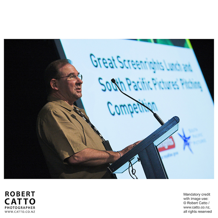 John Barnett at the Spada Conference 06 at the Hyatt Regency Hotel, Auckland, New Zealand.<br />
