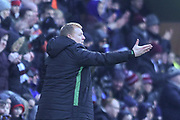 Neil Lennon during the William Hill Scottish Cup 4th round match between Heart of Midlothian and Hibernian at Tynecastle Stadium, Gorgie, Scotland on 21 January 2018. Photo by Kevin Murray.