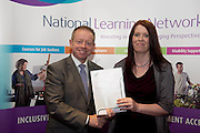 Bernadette Cooley who received a FETAC level 4 Certificate in Horticulture Science  Safe Horticulture practice from Minister of State for Training & Skills at the department of Education and Science Ciaran Cannon TD at the National Learning Network, Galway Certification Ceremony at the Menlo Park Hotel. Photo:Andrew Downes.