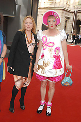 MIRANDA RICHARDSON and GRAYSON PERRY  at the Royal Academy of Art Summer Exhibition Preview Party on 4th June 2008.<br />