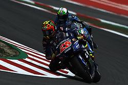 June 15, 2018 - Barcelona, Catalonia, Spain - Maverick Vinales (25) of Spain and Movistar Yamaha MotoGP during the free practice of the Gran Premi Monster Energy de Catalunya, Circuit of Catalunya, Montmelo, Spain.On 15 june of 2018. (Credit Image: © Jose Breton/NurPhoto via ZUMA Press)