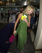 Emma Parker-Bowles. Snatch Premiere. Odeon Leicester Sq. London. 23 Augusty 2000. <br />
